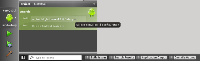 Integration Android pour Qt Creator